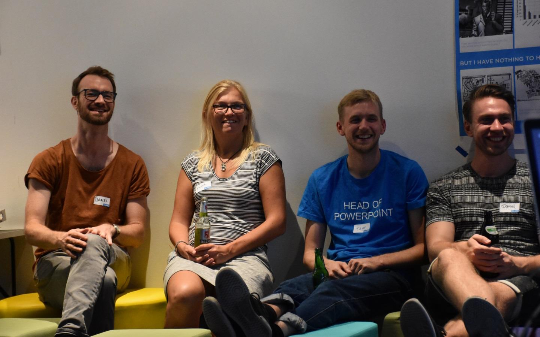Nicht nur das Team von xbAV, einschließlich Tester Tom, will gerne wiederkommen (Bild: Cliqz).