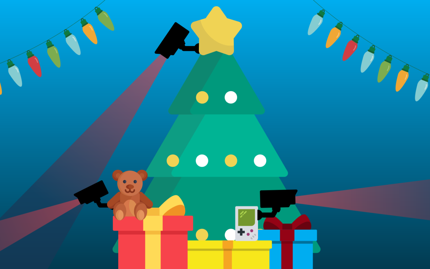 Spies Beneath The Christmas Tree Holiday Shoppers Must Be On Guard I defy anyone not to get a little misty in the eyes when that little tree stands tall and bright or when those tiny round mouths form perfect os when singing christmas. spies beneath the christmas tree