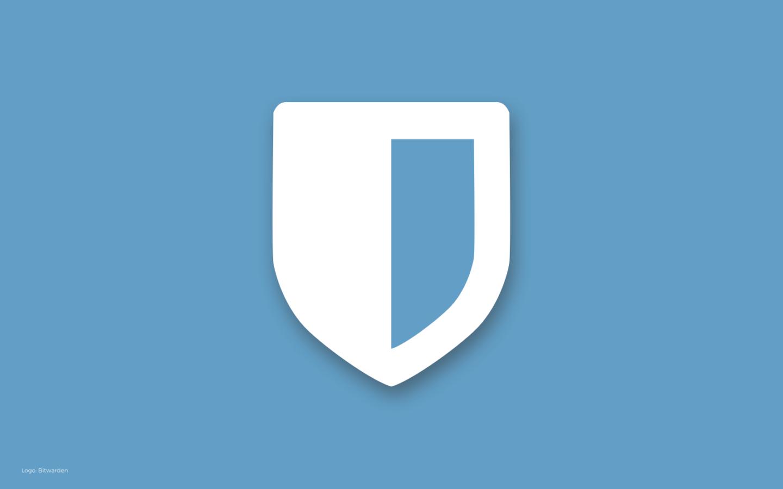Logo: Bitwarden
