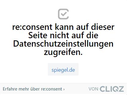 re:consent: andere Websites spiegel.de