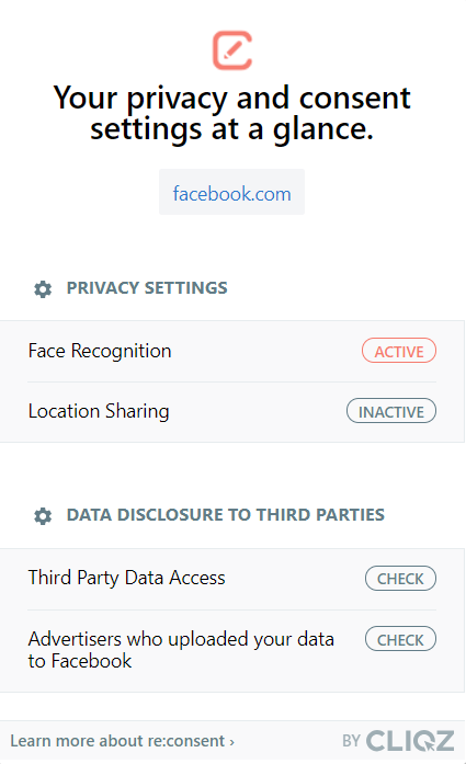 re:consent: facebook.com