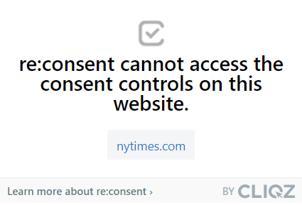 re:consent: other websites nytimes.com