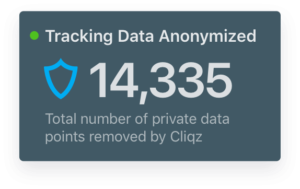 Tracking Data Anonymized